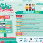 CLAPSLANDIA atracciones 2013