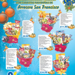 Canastas navideñas Arrocera San Francisco - 31oct13