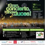 Gran concierto y show de luces SUPER SELECTOS el salvador entrada GRATIS