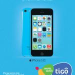 IPhone 5C proximamente en TIGO El Salvador - 10oct13