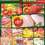 Ofertas de mercado Walmart de viernes a domingo - 25oct13