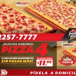 PIZZA HUT promocion en Pizza 4 duo clasica - 16oct13