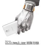 Samsung Galaxy note 3 and GEAR diseña tu vida