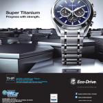CITEZEN Eco-Drive Super Titanium - 25nov13