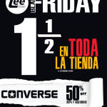CONVERSE shoes disocunts Black Friday 2013