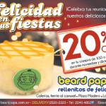 Felicidad en tus fiestas BEARD PAPAS rellenitos - 20nov13