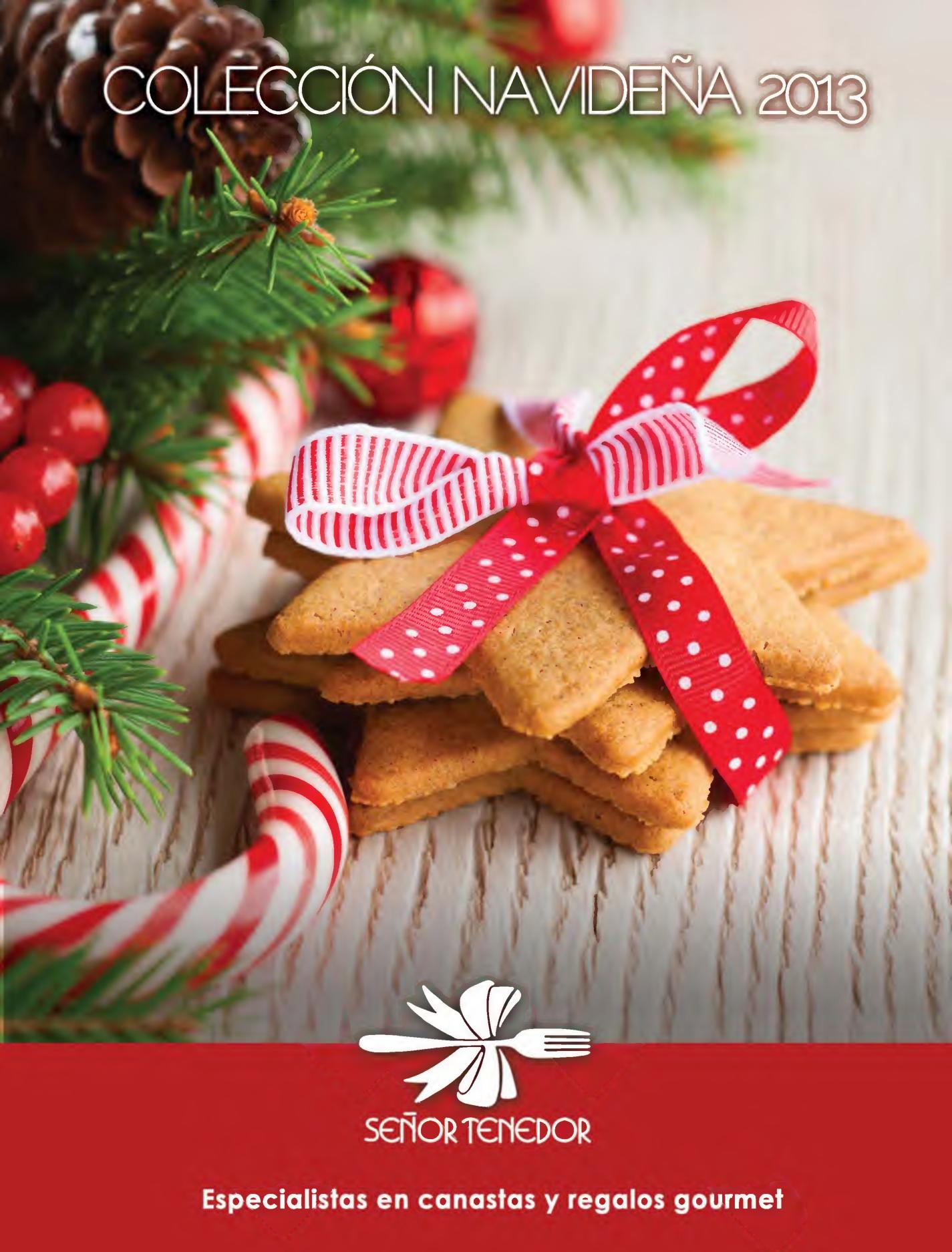 Se or tenedor canastas navide as gourmet page01 for Ofertas tenedor