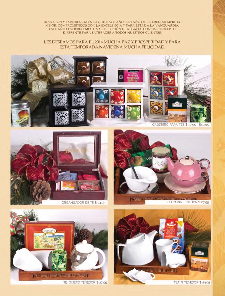 Se or tenedor canastas navide as gourmet page02 for Ofertas tenedor