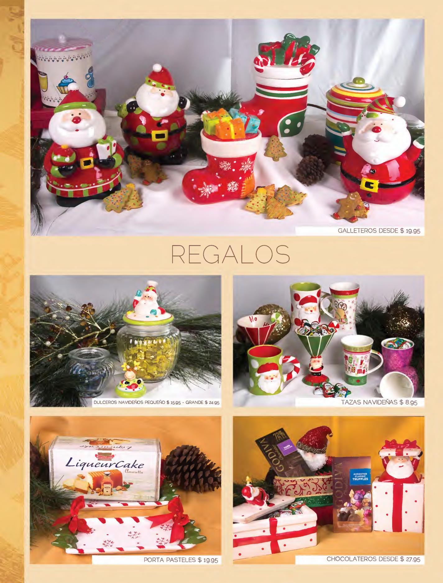 Se or tenedor canastas navide as gourmet page03 for Ofertas tenedor