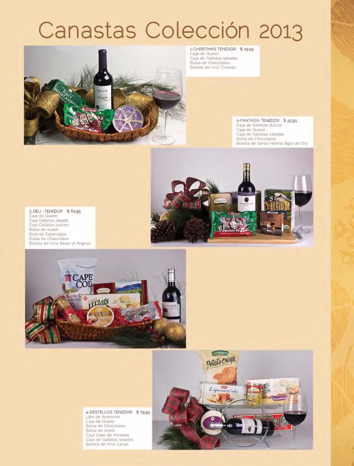 Se or tenedor canastas navide as gourmet page05 for Ofertas tenedor