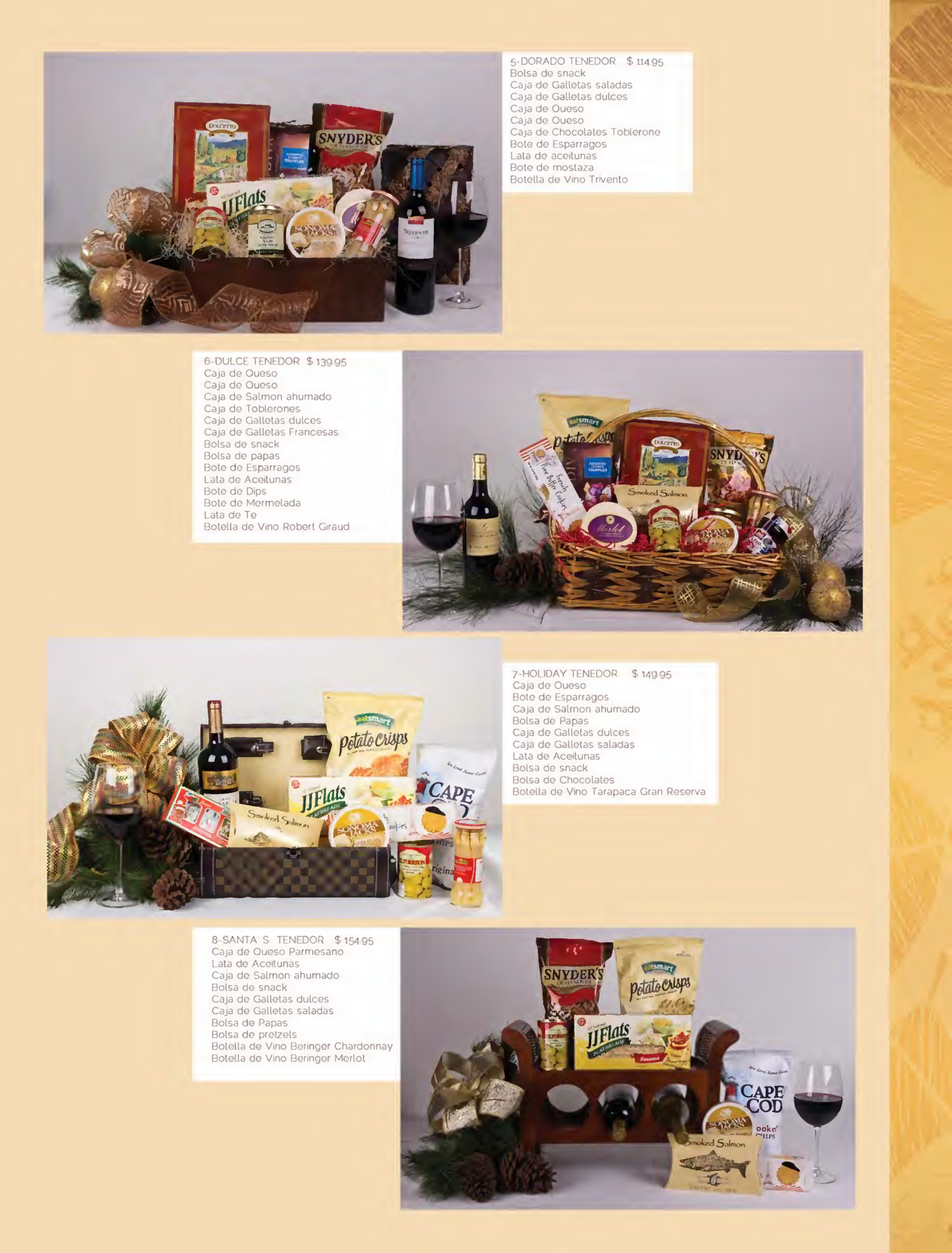 Se or tenedor canastas navide as gourmet page06 for Ofertas tenedor