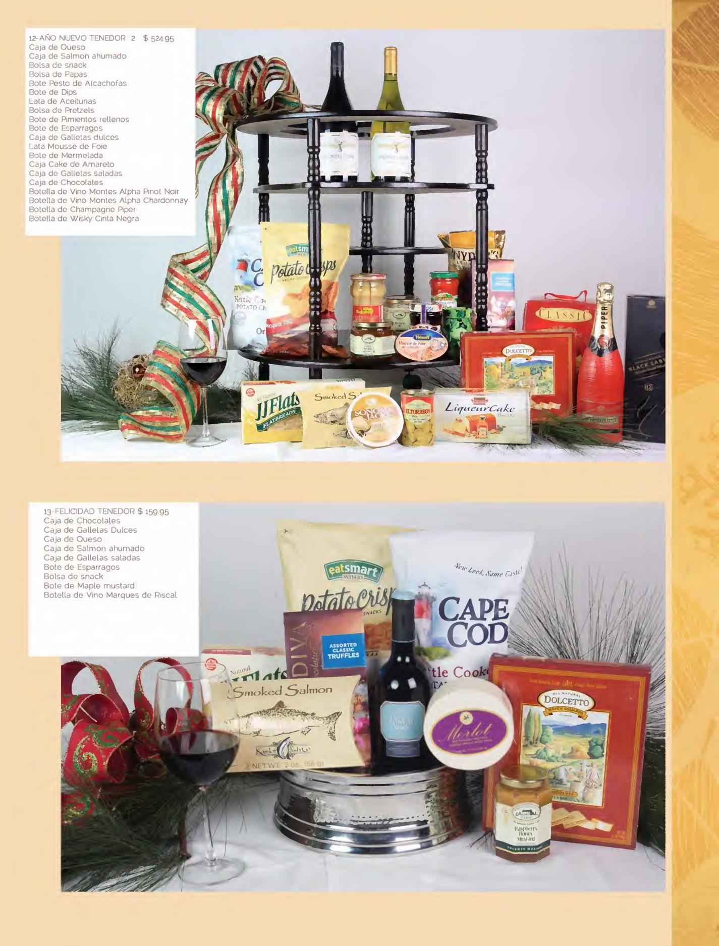 Se or tenedor canastas navide as gourmet page09 for Ofertas tenedor