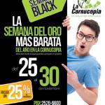 Semana BLACK Friday en La Cornucopia