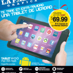 TABLET WOO Pad 705 Flash gracias a LPG - 11nov13