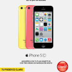 iPhone 5c con el color de tu personalidad CLARO promociones - 06nov13