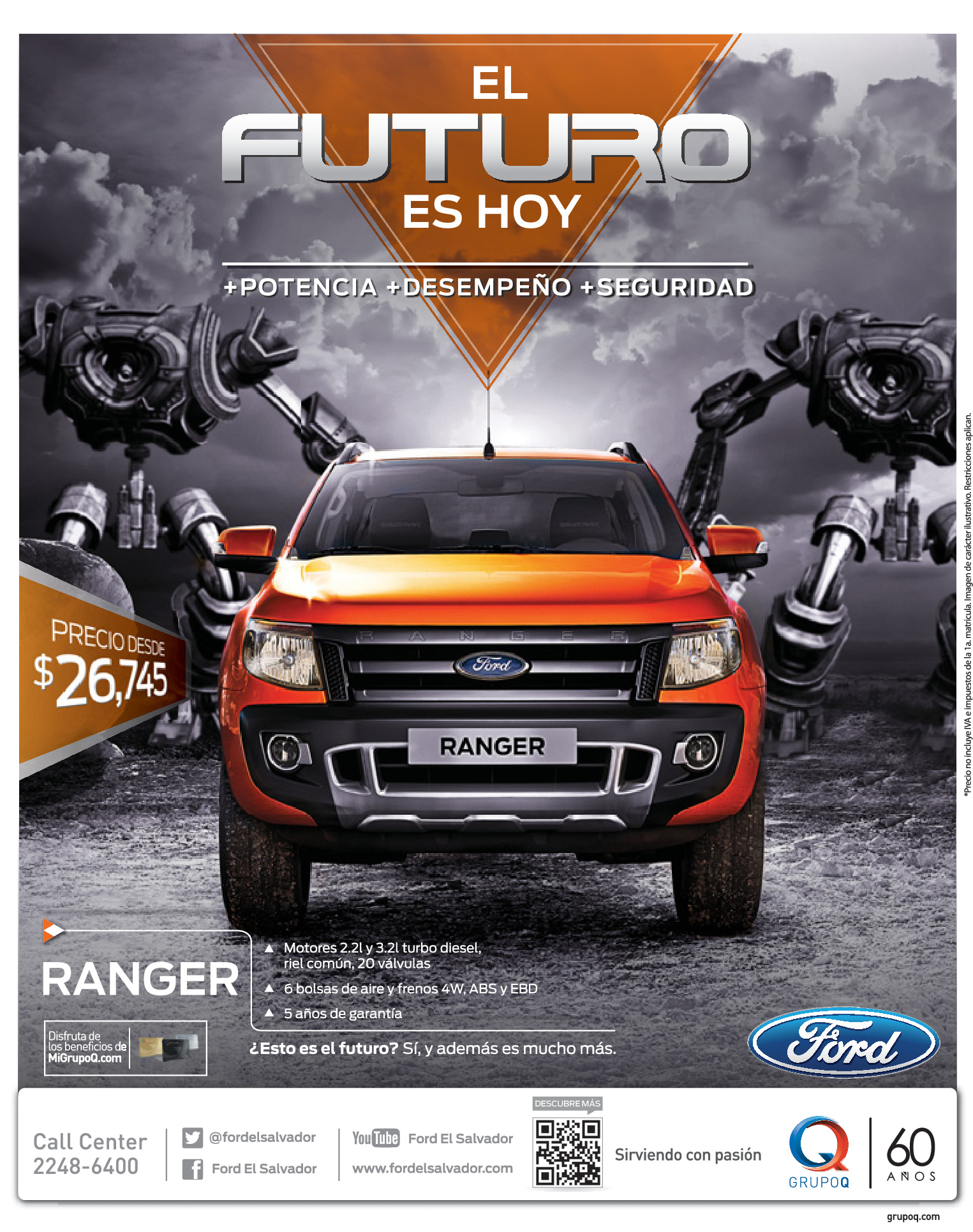 Ford ranger 2014 awesome promotion for Ford s fish shack menu