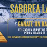 Burger King La Liga Española WHOPPER promotion