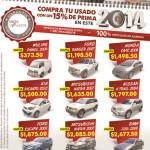 Compra tu auto usado en 2014 promociones - 06ene14