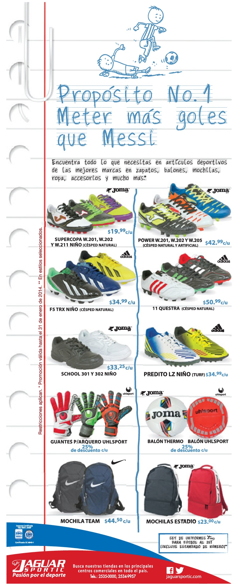 zapatos joma en guatemala ni�as