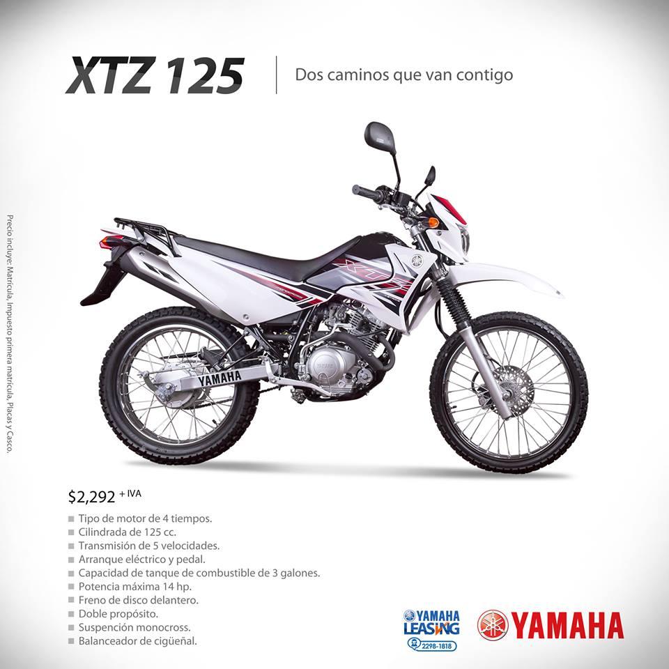 yamaha leasing xtz 125 promocion 08ene14 ofertas ahora. Black Bedroom Furniture Sets. Home Design Ideas