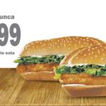 promocion King de Pollo Burger King El salvador