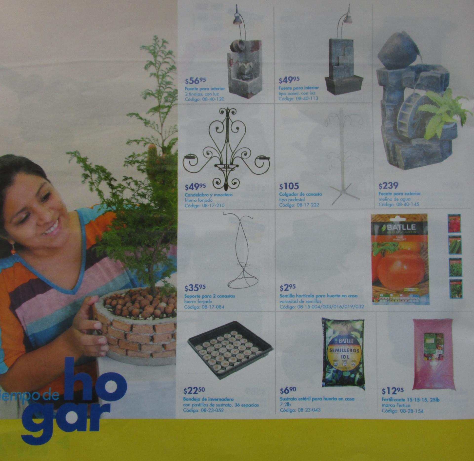 Decoracion jardineria epa el salvador feb 2014 ofertas for Decoracion jardineria