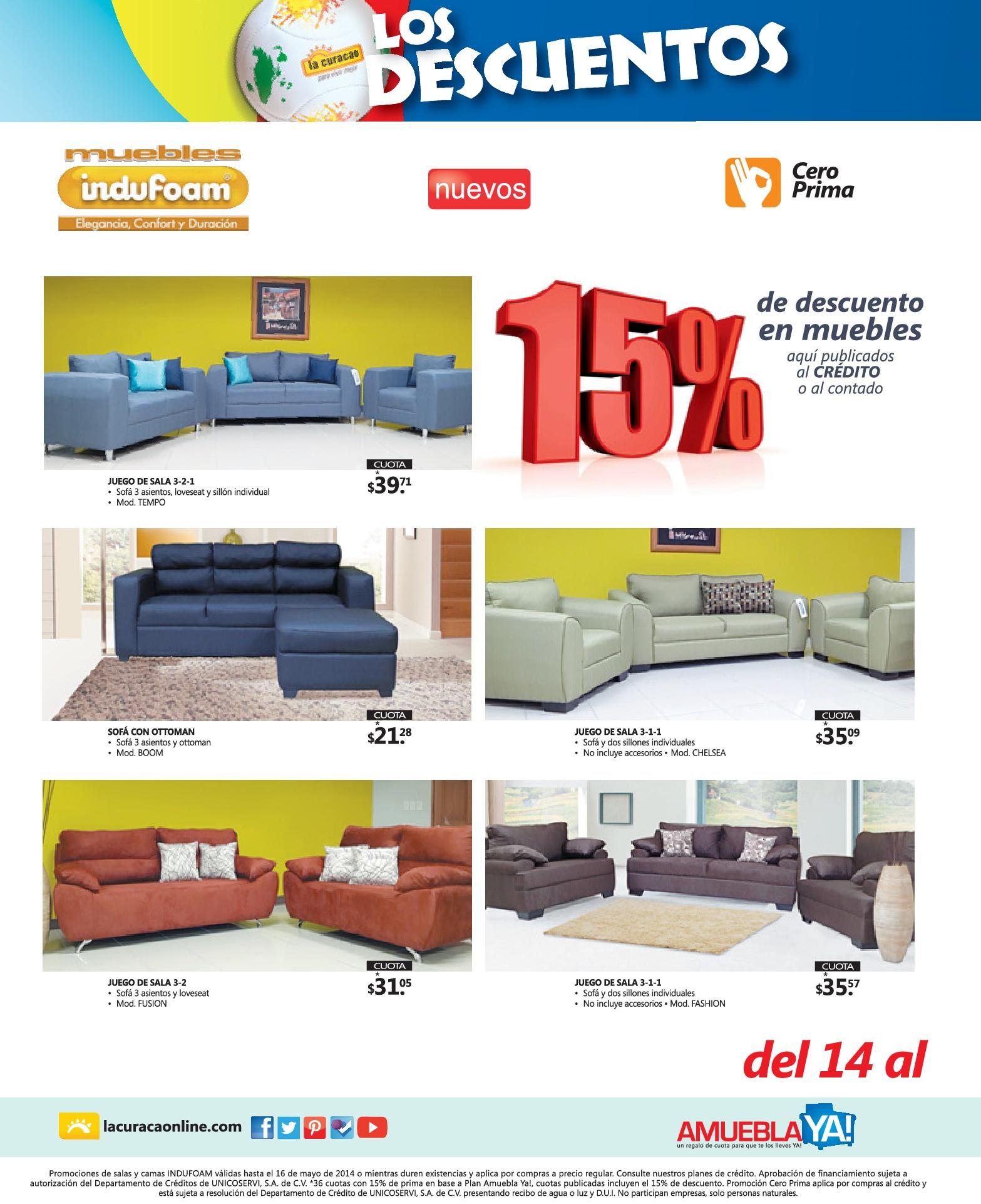 Renueva Tu Sala Con Estos Muebles La Curacao 14may14