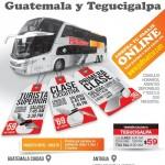 Viaja a centro america en bus COMPRA tu boleto online