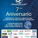 descuento en medicamento GENOMA LAB - 22oct14