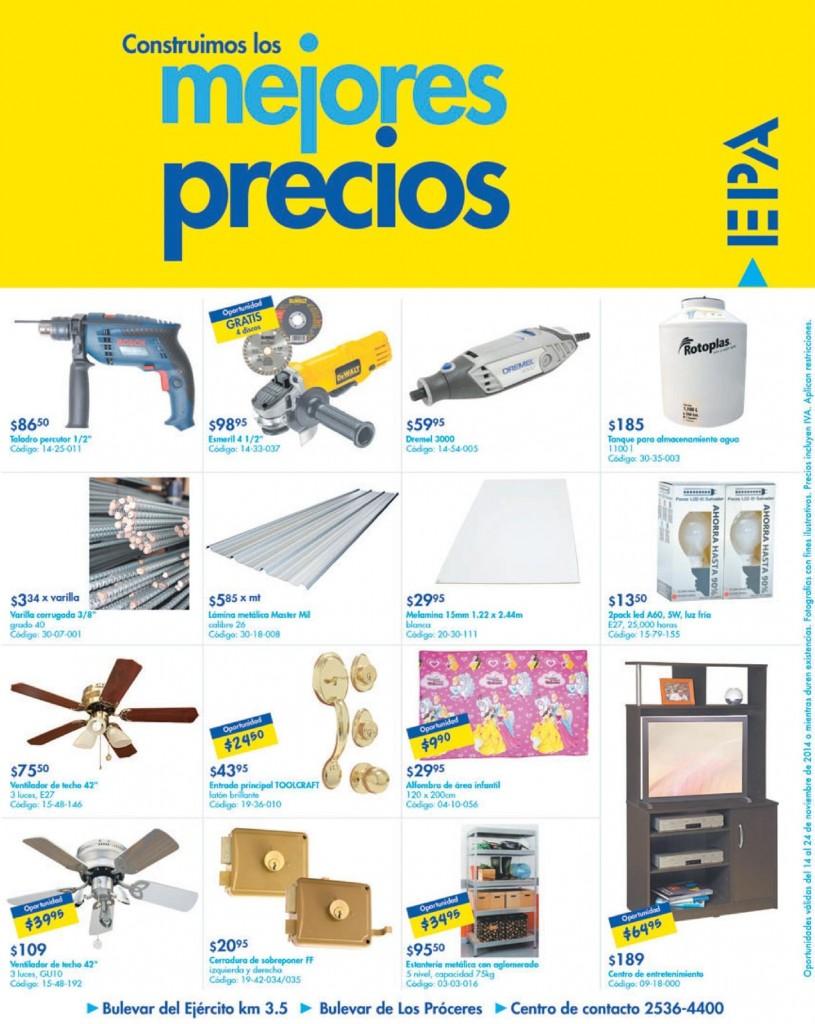 EPA buenos precios y Encuentras todo para tu casa - 14nov14