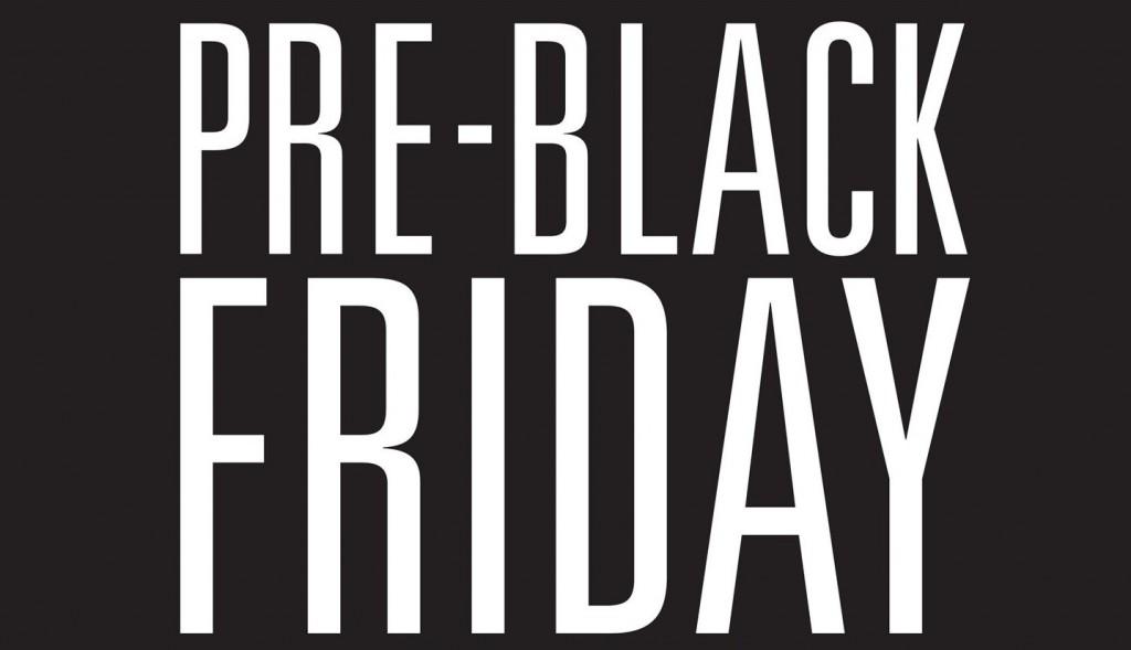 Una probadita pre black friday