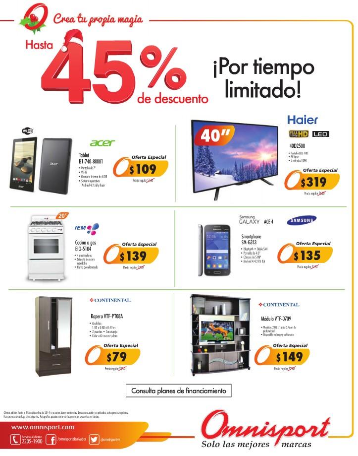 Ofertas especial productos electronicos omnisport for Sanborns de los azulejos precios