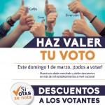 SI votas SE nota DESCUENTOS 1 de marzo 2015