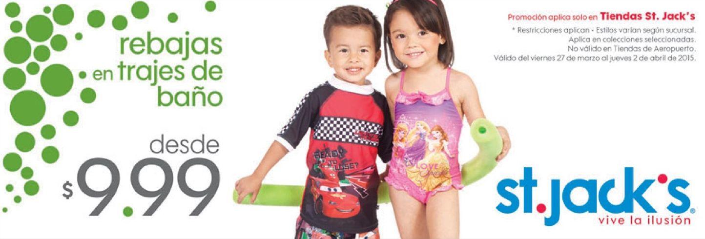 St jacks trajes de bano para ninos en oferta ofertas ahora for Ropa de bano infantil