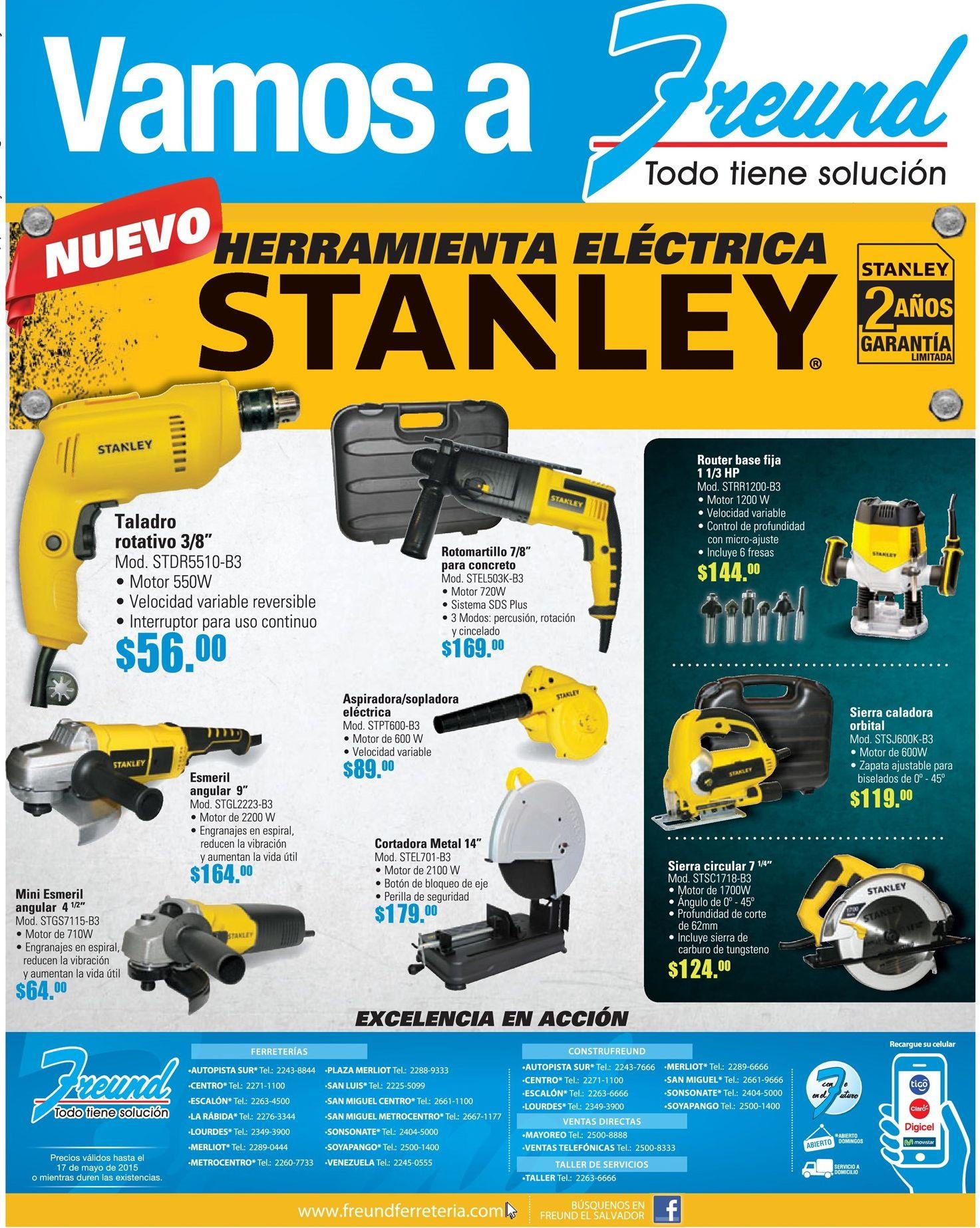 Freund ofertas y promociones en herramientas electricas - Oferta calentador electrico ...