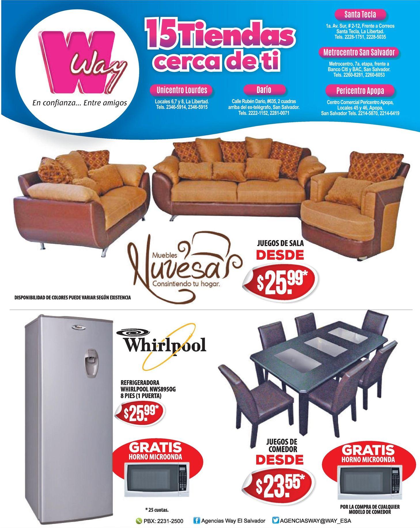 Almacenes way opciones en muebles a buen precio ofertas - Muebles a buen precio ...