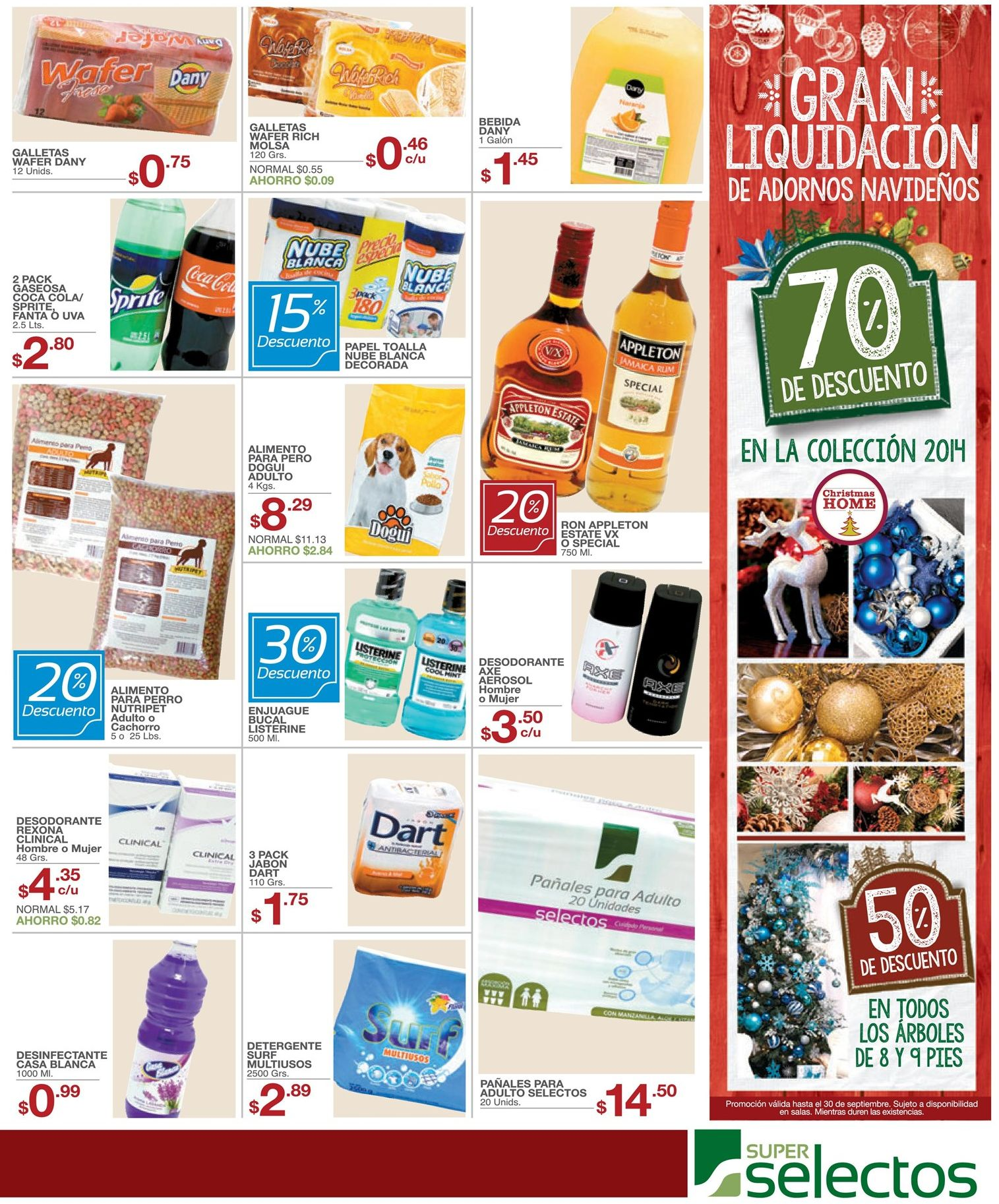 Atencion gran liquidacion de 70 off en productos de for Productos de navidad