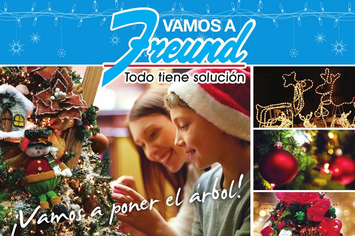 Freund catalogo productos accesorios y articulos de for Productos de navidad