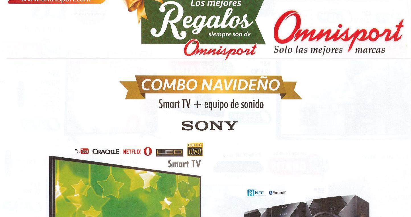 Omnisport presenta su catalogo de regalos de navidad 2015 - Regalos para navidad 2015 ...
