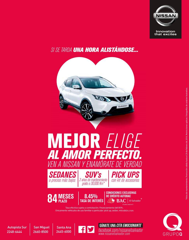 Enamorate en FEBRERO de los nuevos modelos de carros NISSAN 2016