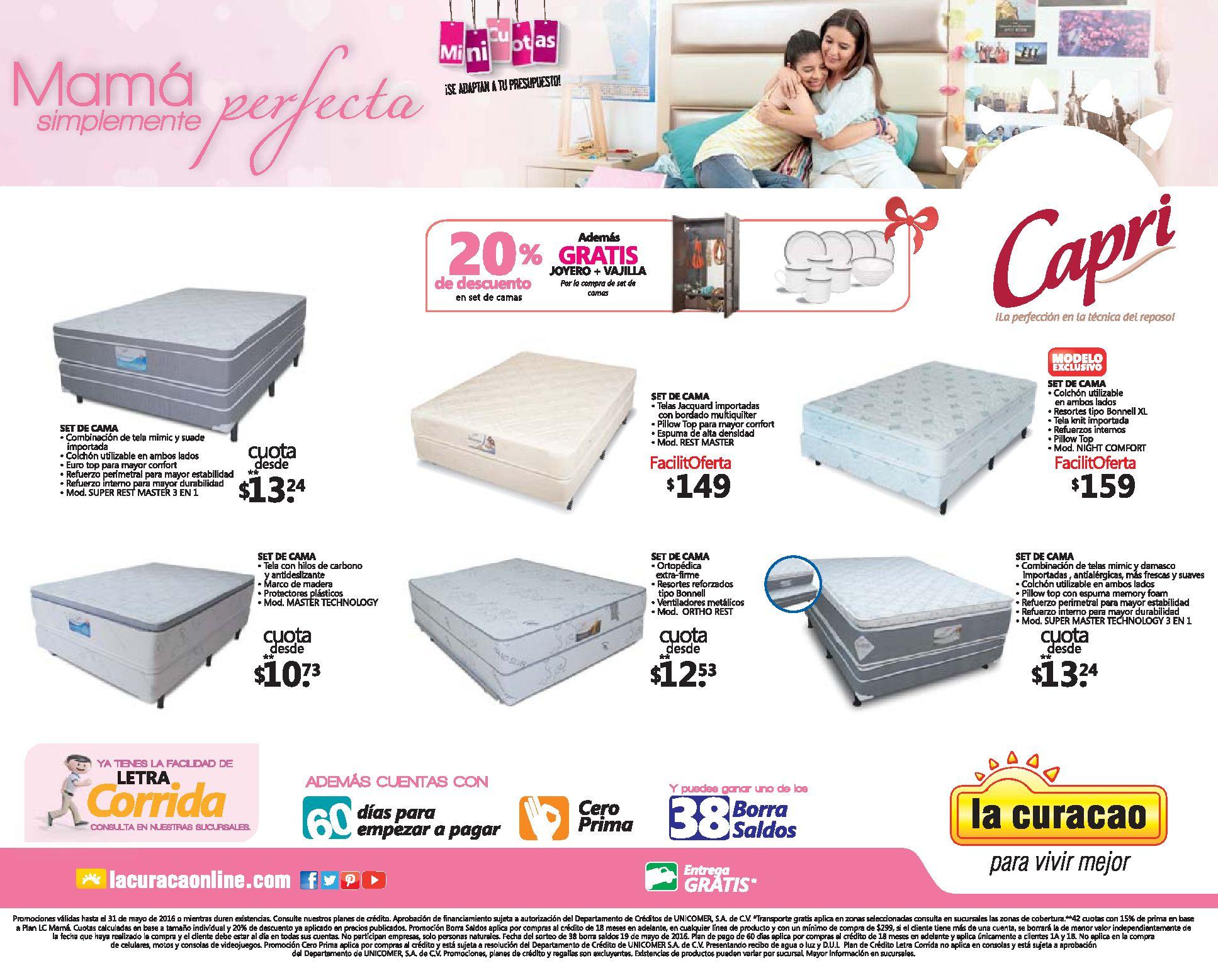 6 camas en promocion para mama en la curacao ofertas ahora for Ofertas de camas