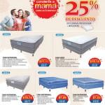 Camas indufoam con descuentos en PRADO por dia de las madres 2016