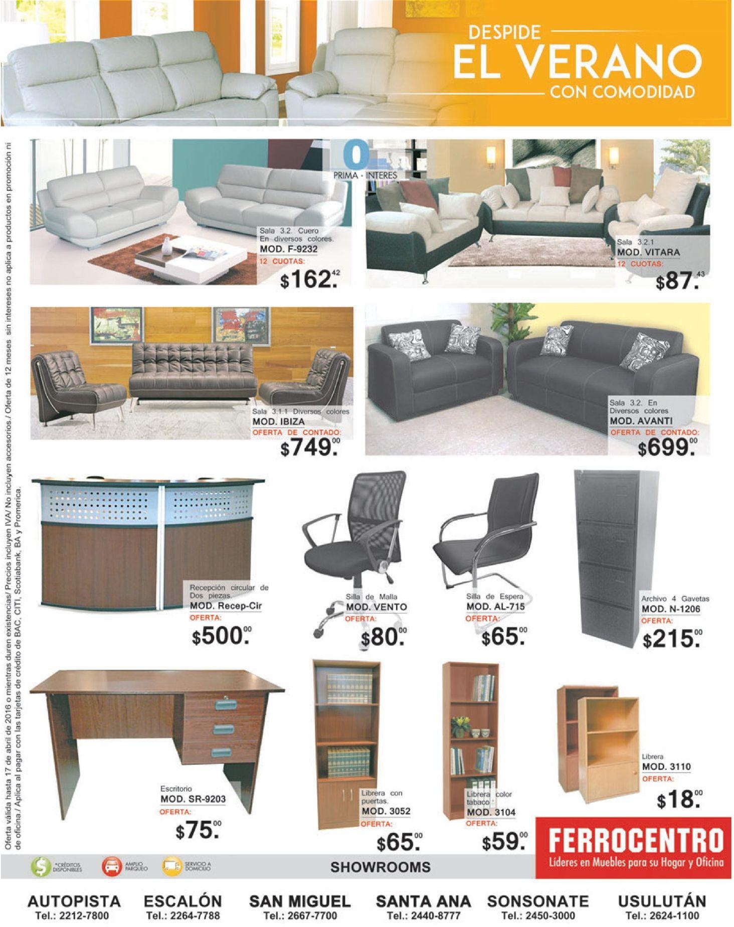 Compra muebles de calidad en el salvador con ferrocentro for Compra de muebles