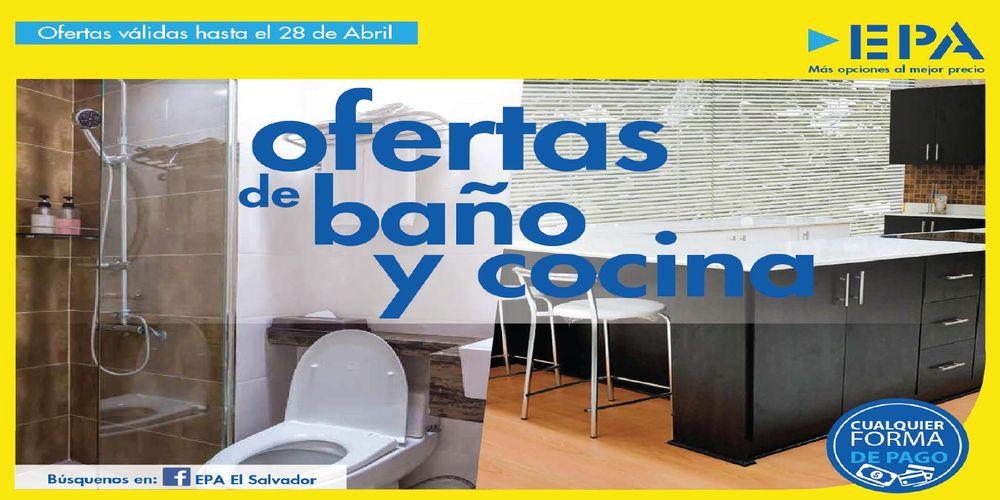 Catalogo epa ofertas para ba os y cocina for Catalogos de banos 2016