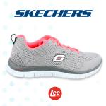La moda de calzado deportivo FLEX solo by skechers