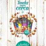 new product Super Selectos GRANUTS nutritivos y bajos en calorias