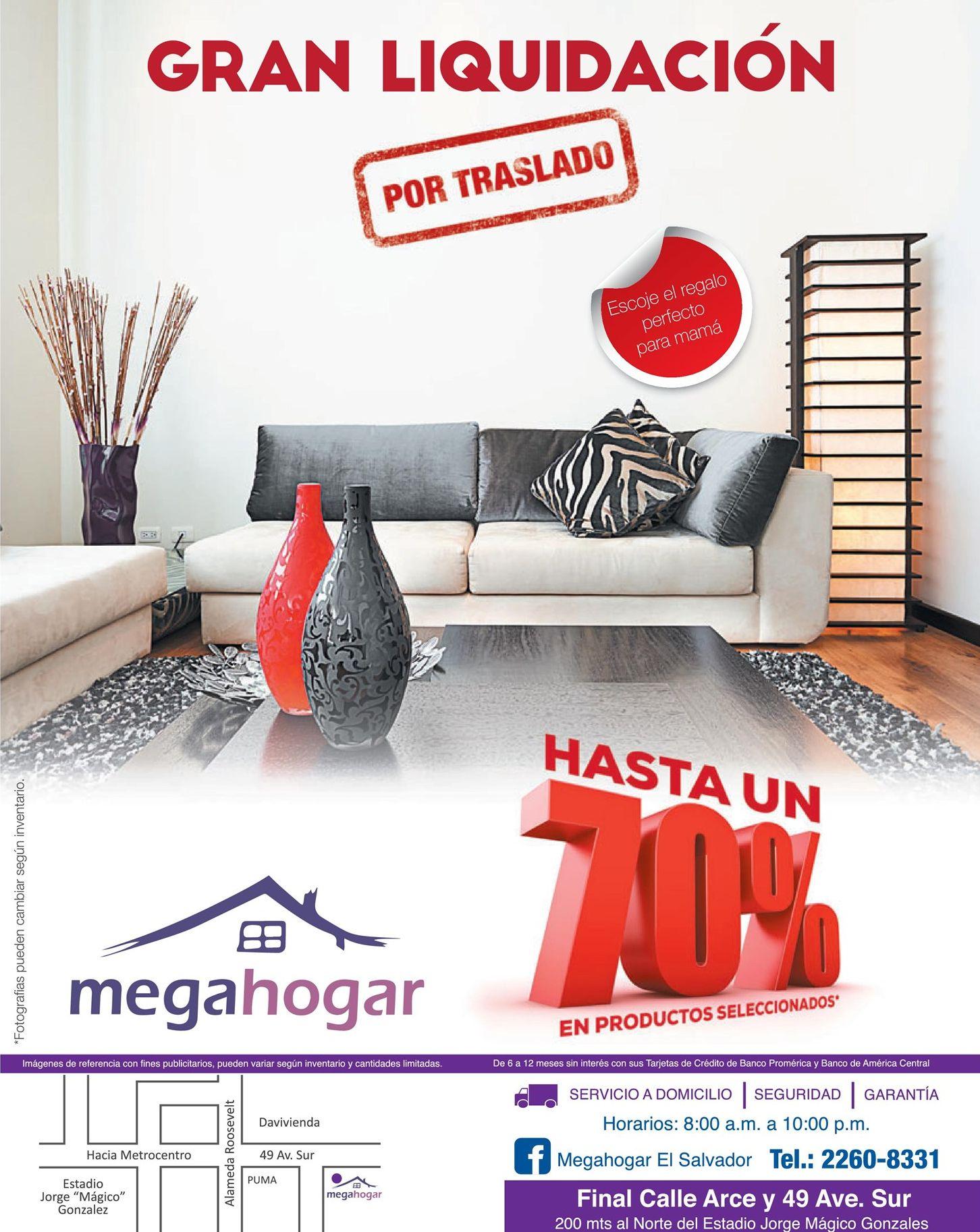 Furniture deals hasta 70 off en megahogar el salvador for Furniture 70 off