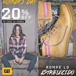 HAPPY mothers day al estilo Caterpillar boots for her