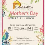 Mothers DAY special lunch CAJAMARCA el salvador