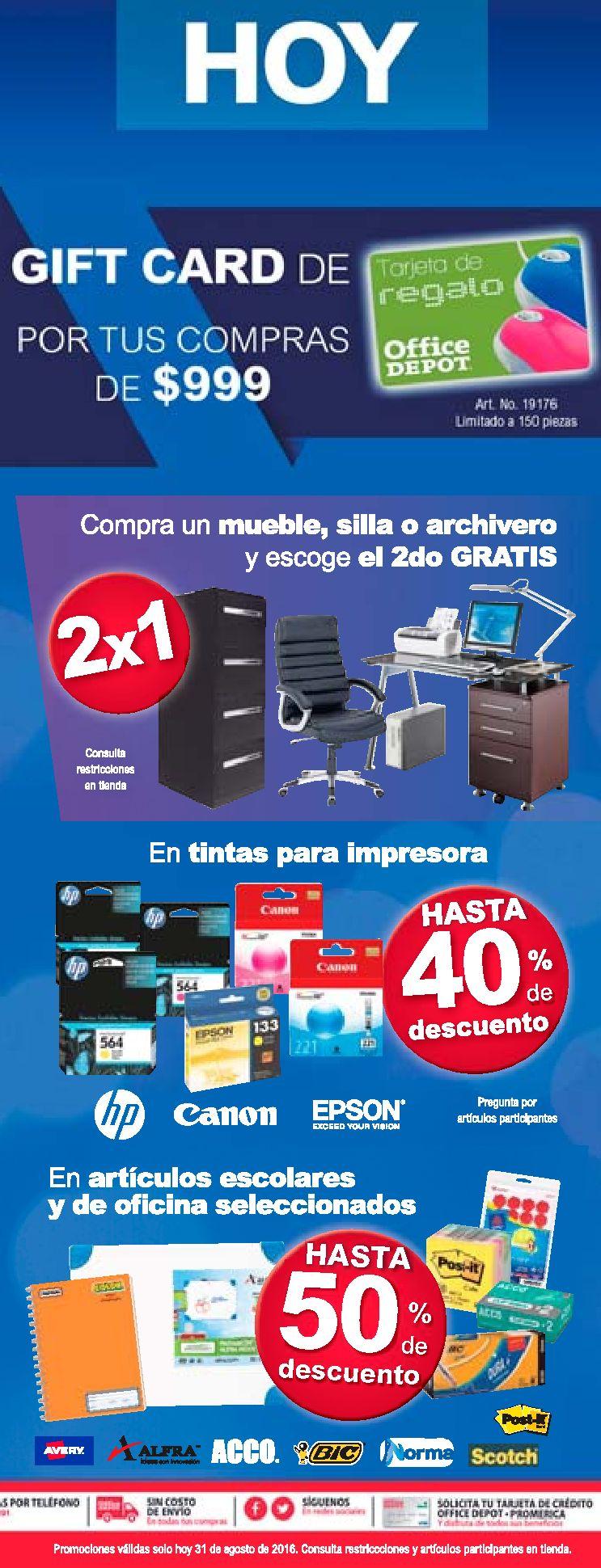 Accesorios y consumibles para oficinas de el salvador for Consumibles oficina